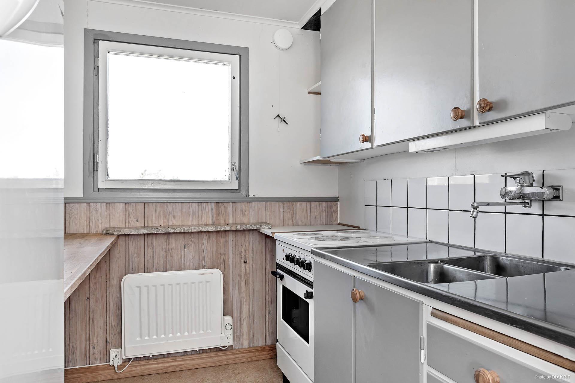 Kök i lägenheten