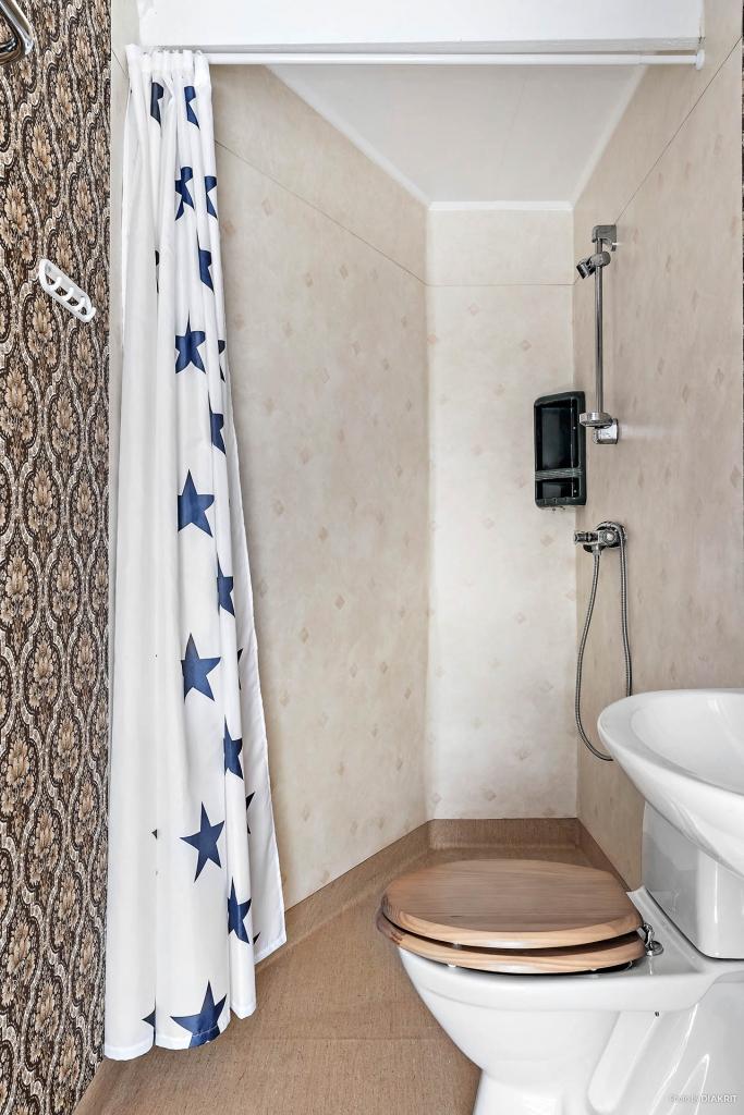 Duschrum i lägenheten