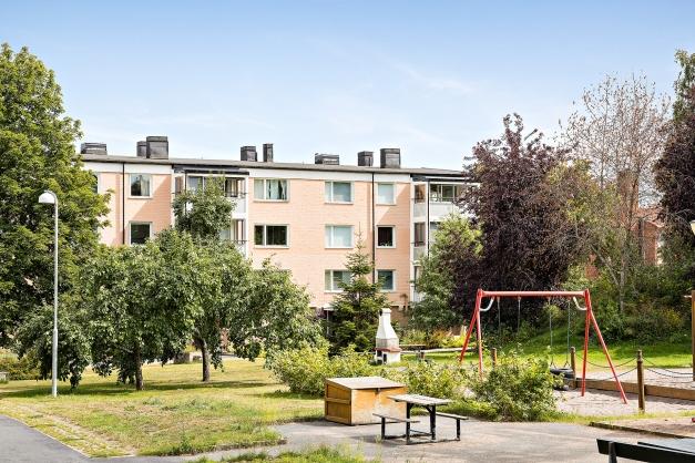 Trevlig innergård med grilmöjligheter m.m.
