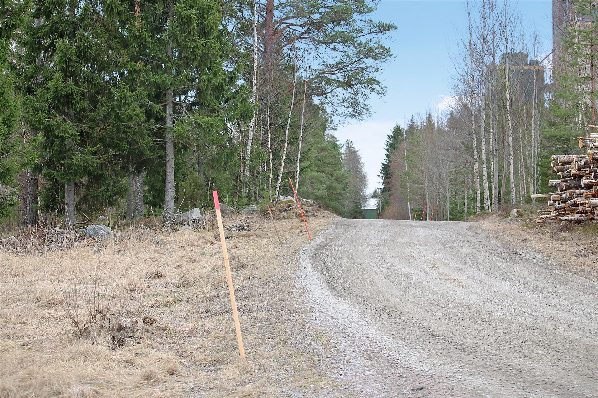 Detaljplanerad råmark