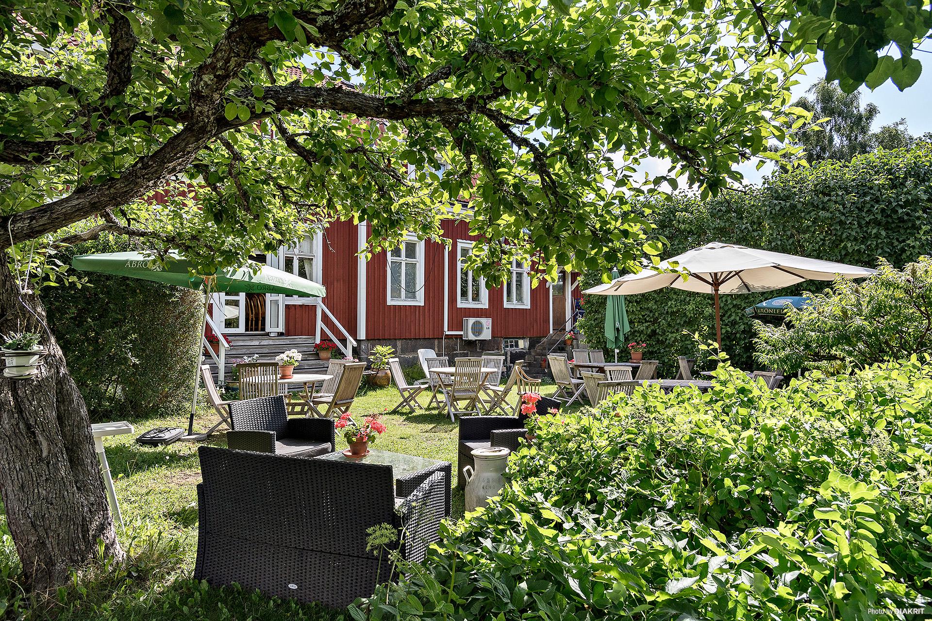 Trädgården med 25 platser