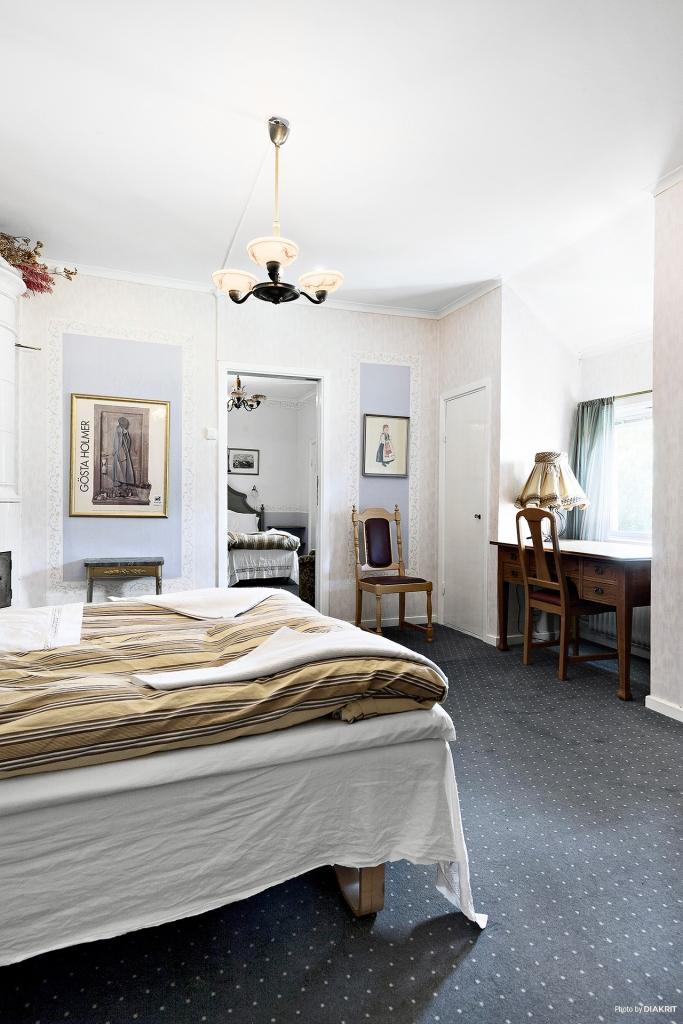 Lägenhet med kakelugn