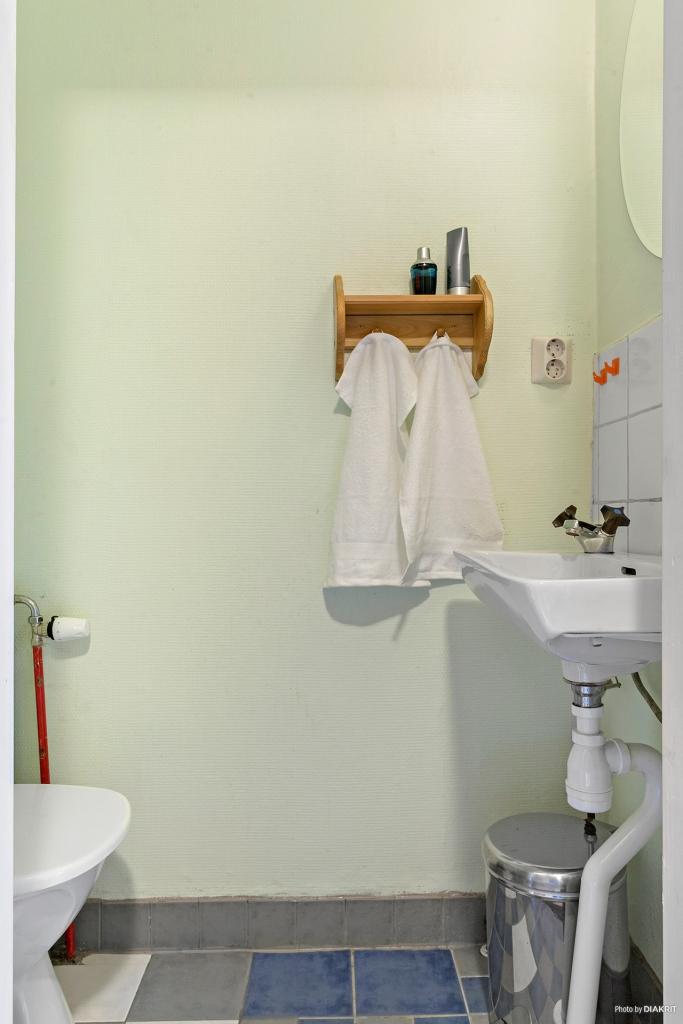 WC-rum på övre plan.