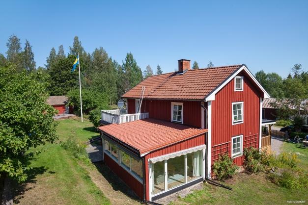 Huset från baksida