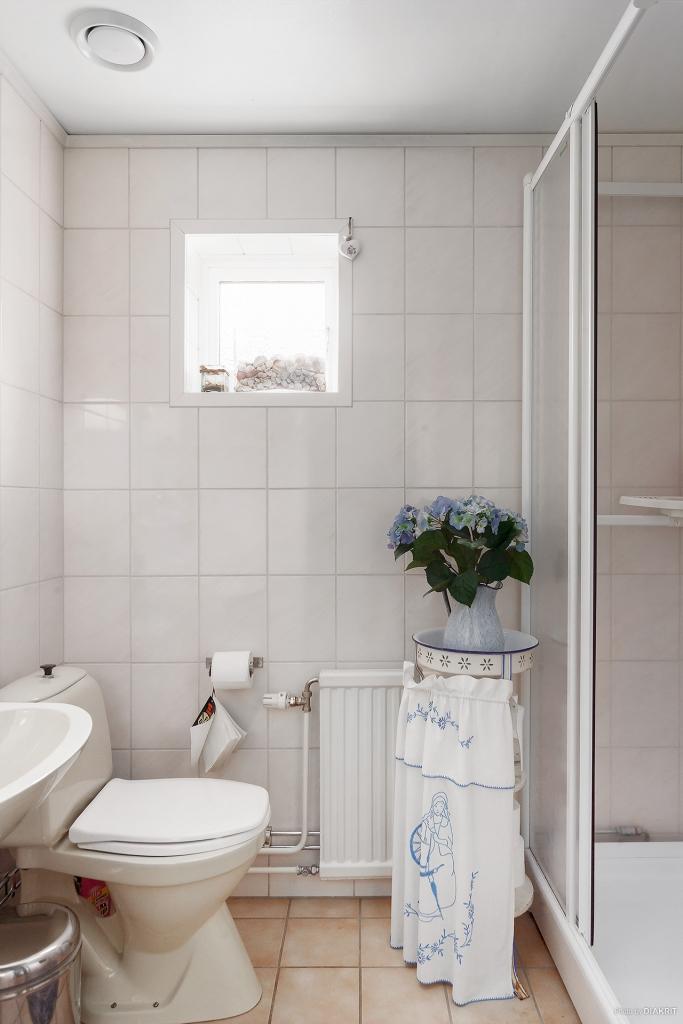 WC/dusch vid entré