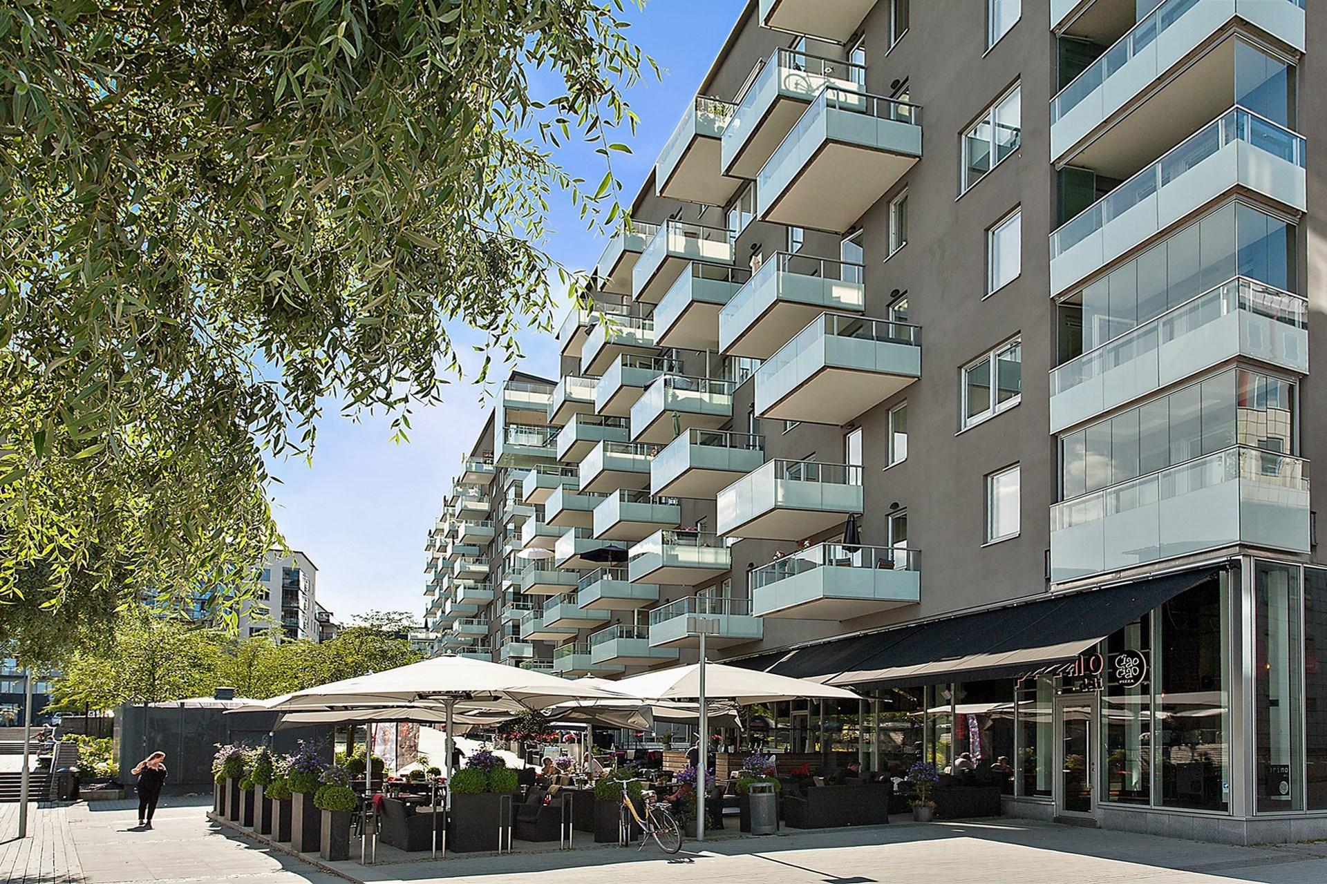 Restaurang Primo Ciao Ciao är ytterligare en av de restauranger som finns på Sjövikstorget.