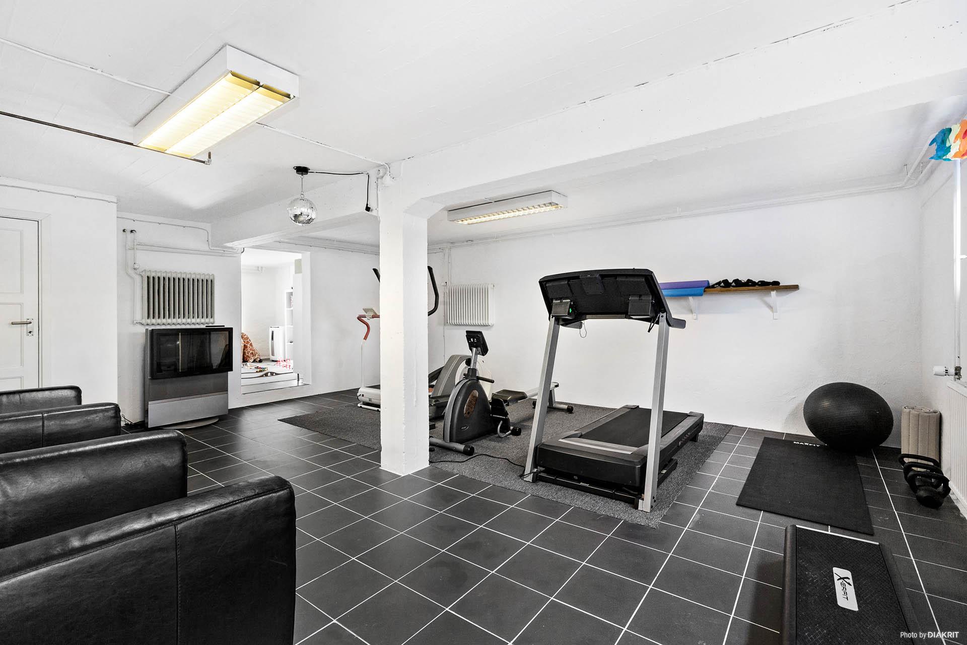 Gym källare
