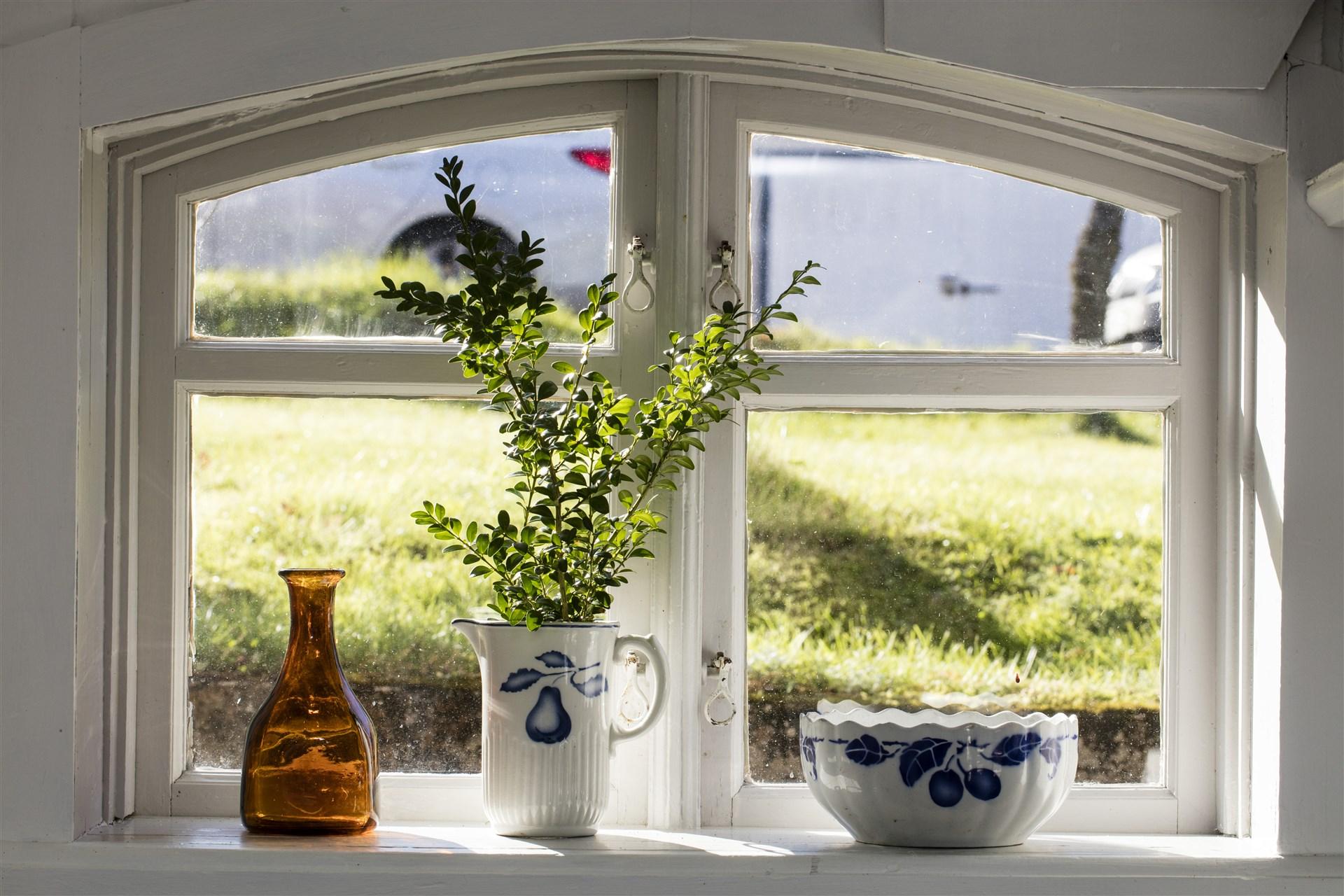 Fönster i källaren