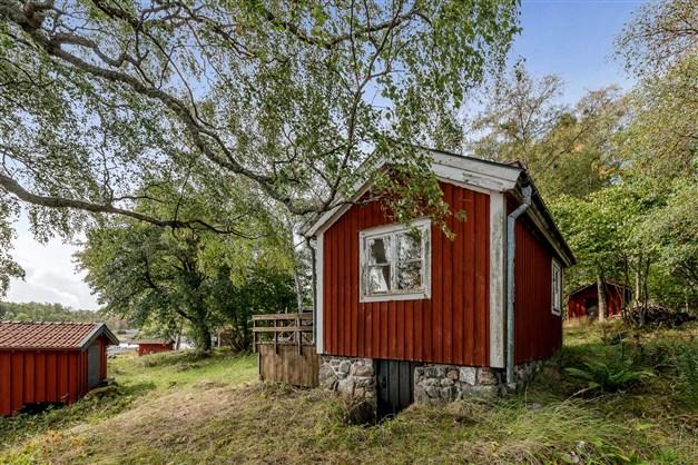 Skärgårdsidyll med pittoreska hus
