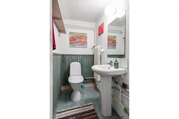 WC källarplan