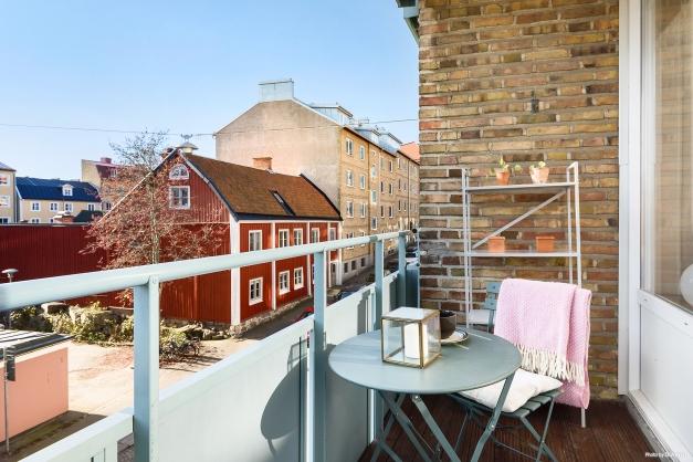 Härlig balkong