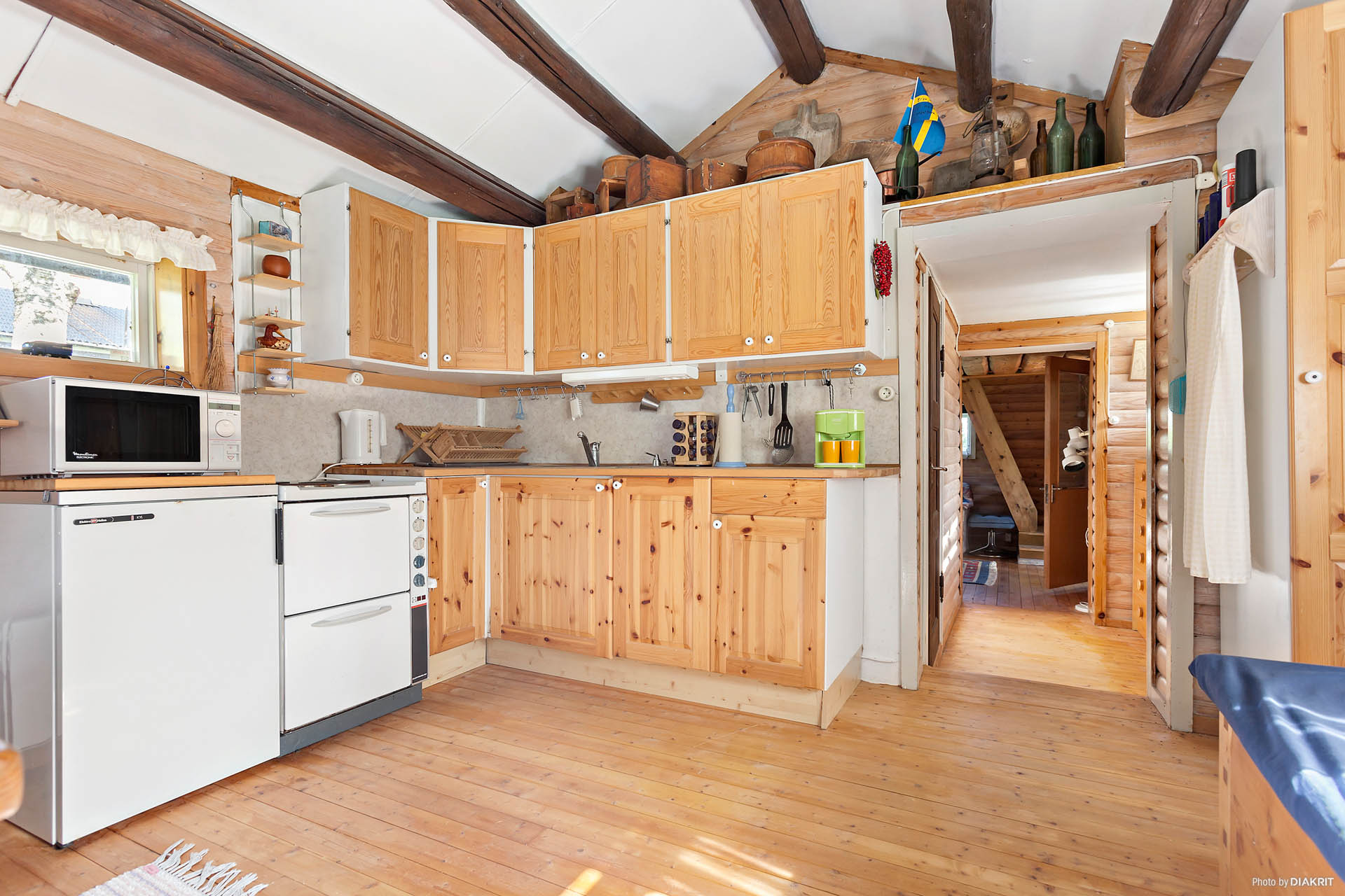 kök i gamla huset