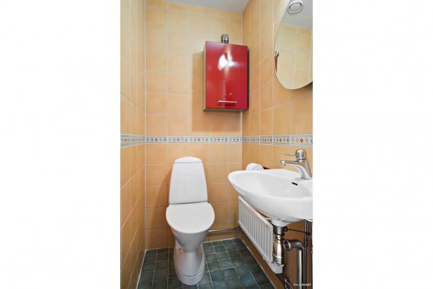 Gäst-WC i hallen.