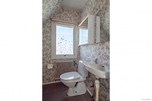 Toalett ovanvåning