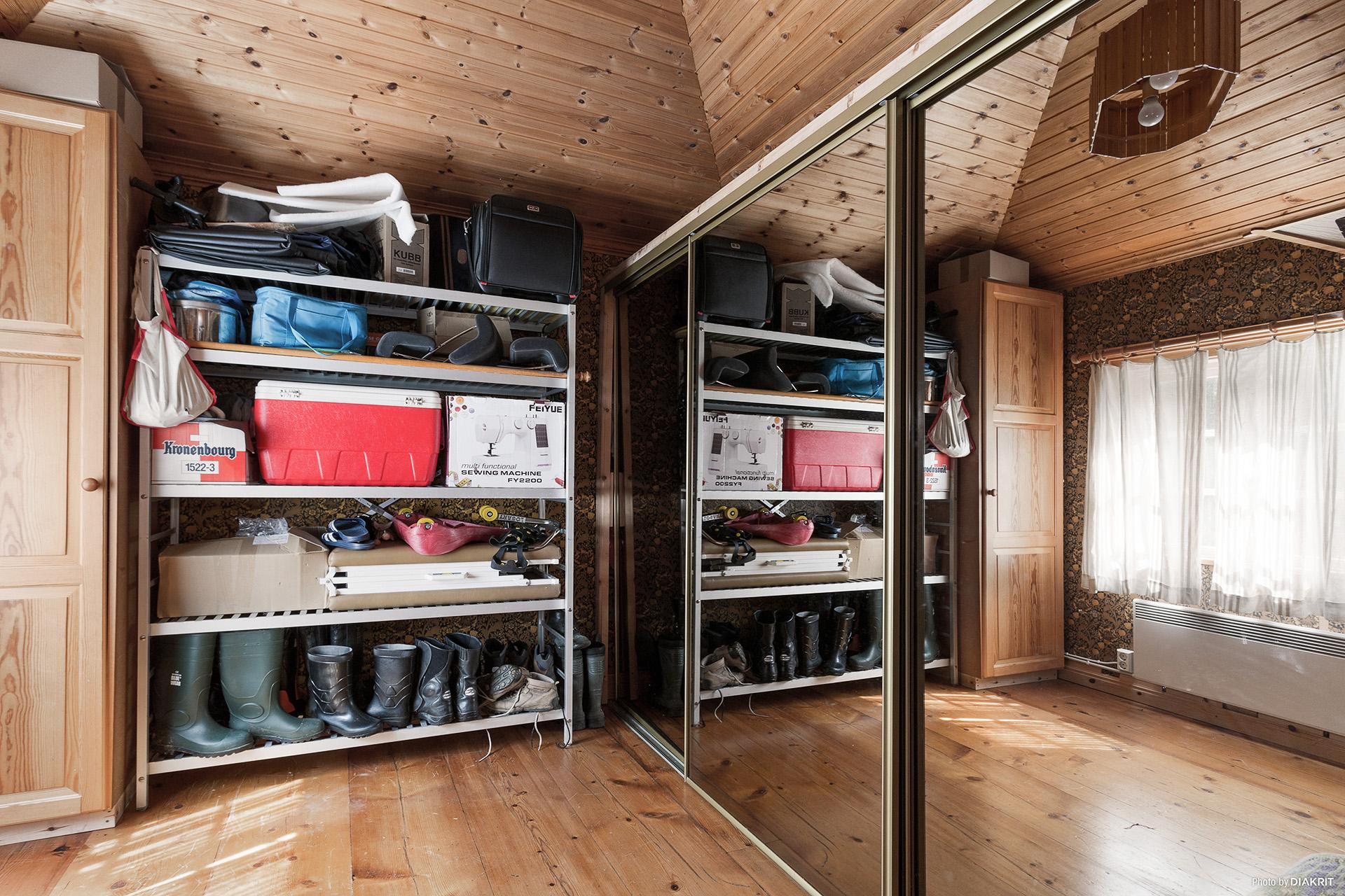 Walk-in- closet, extrarum