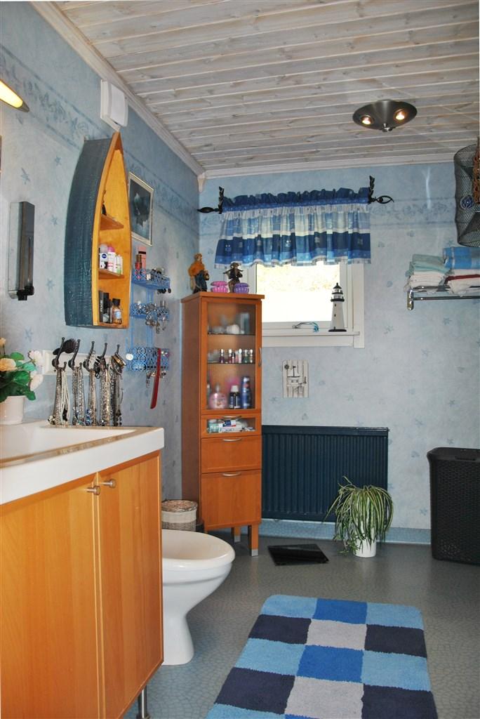 Rymligt wc/duschrum