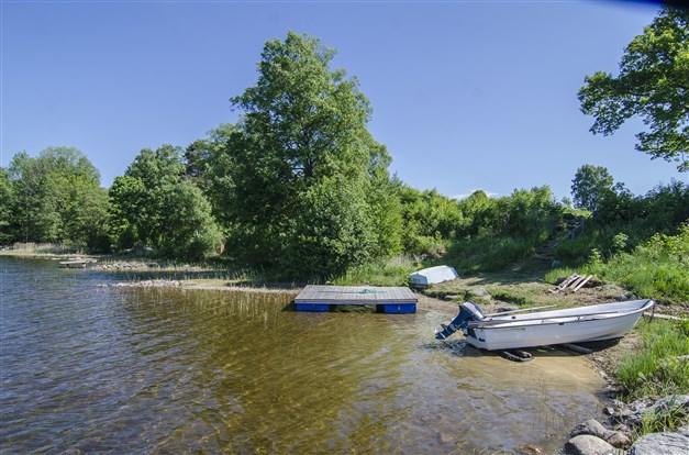 Gemensam båt/badplats