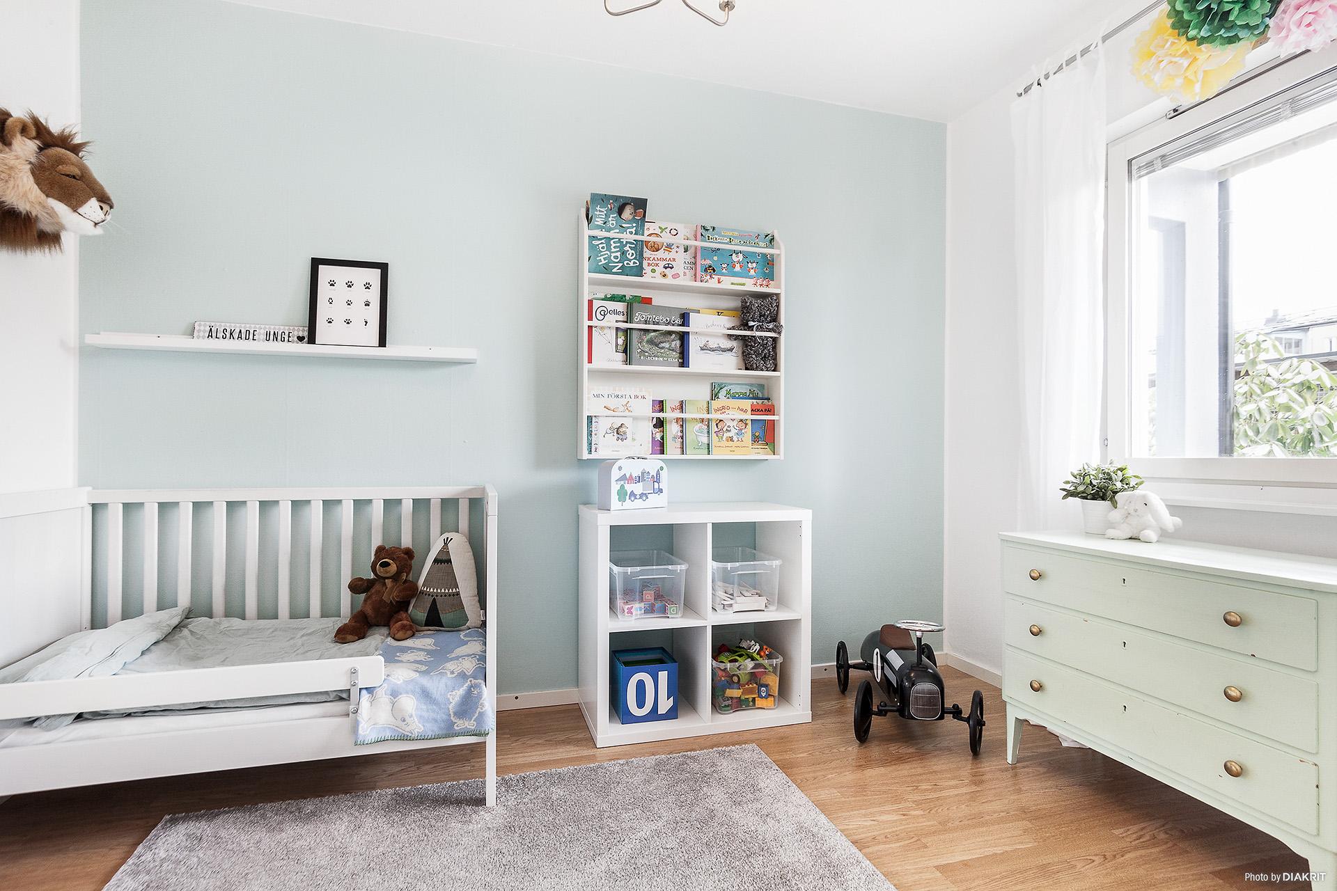 Rymligt sovrum för de minsta