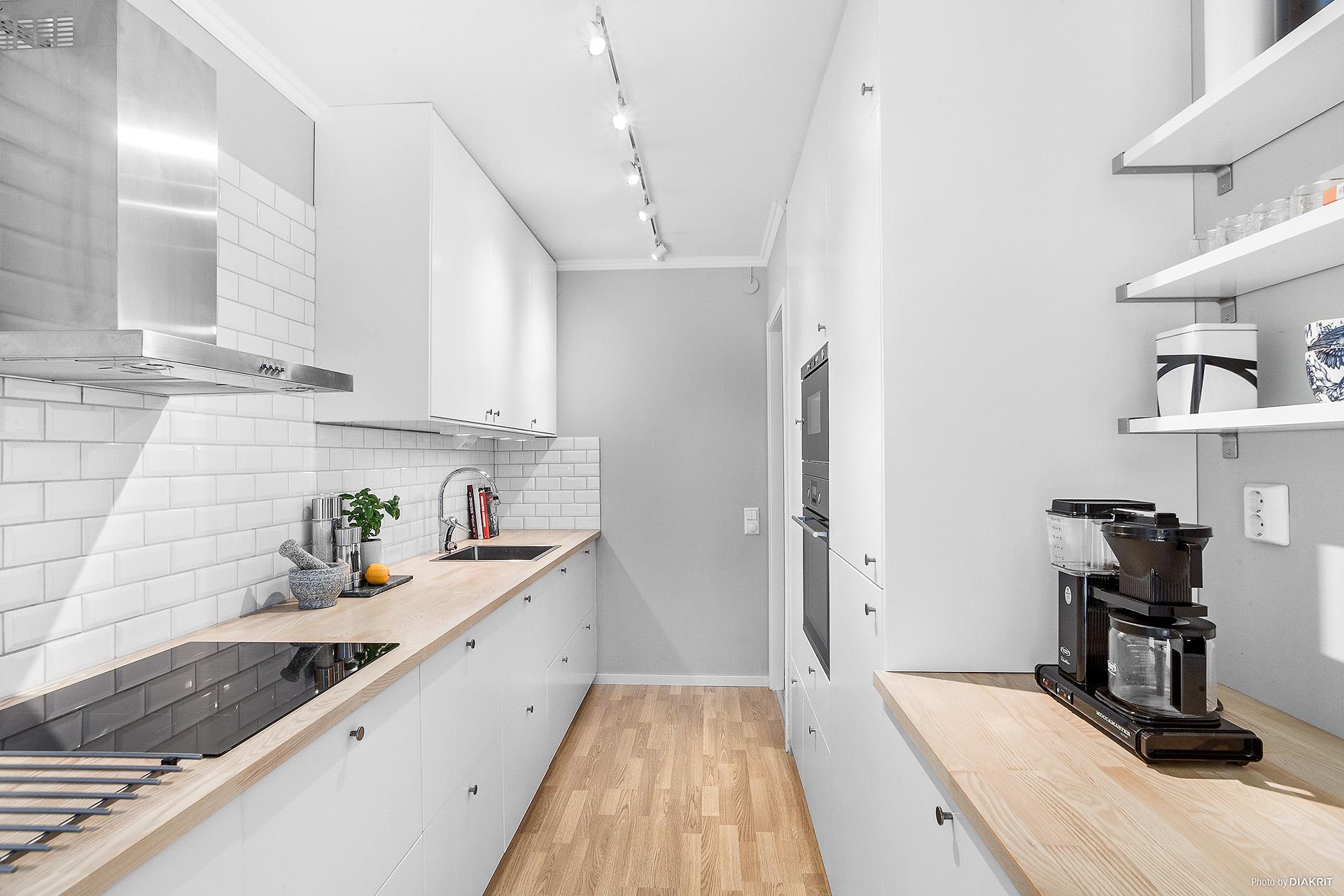 Modernt renoverat kök