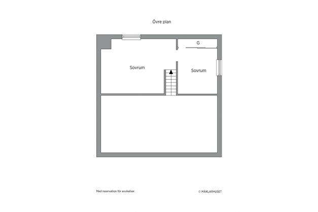 Planritning loft