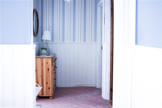 Passage till sovrummen.