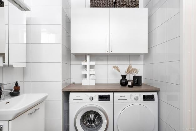 Vardagslyx med egen tvättavdelning!
