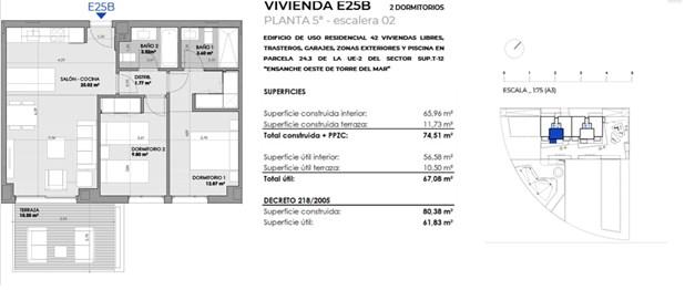 Bostad E22B, 221.600 €
