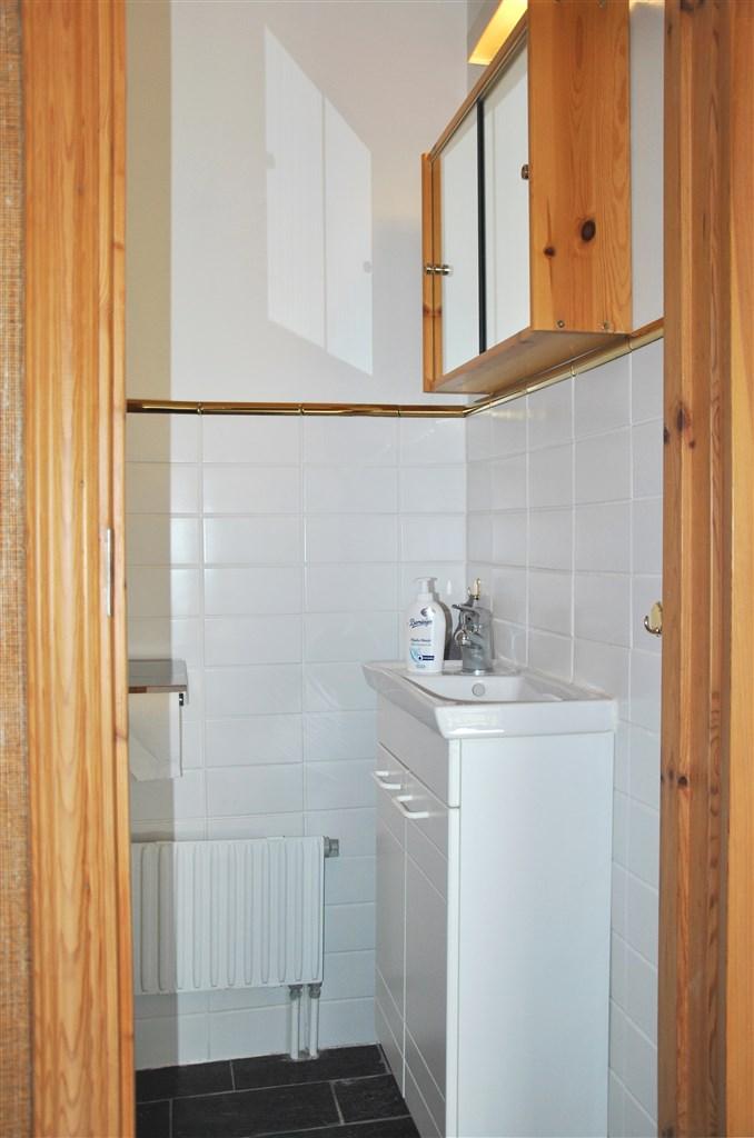 En av flera wc