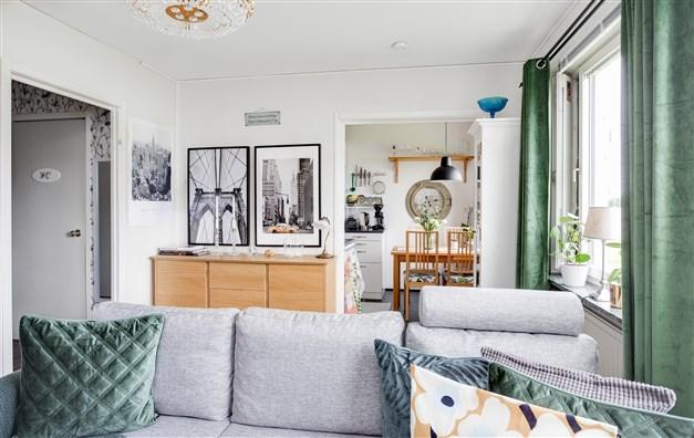 Välkommen till Norevägen 17B! Här erbjuds en ljus och fräsch 1:a på bottenvåningen med bra läge i området.