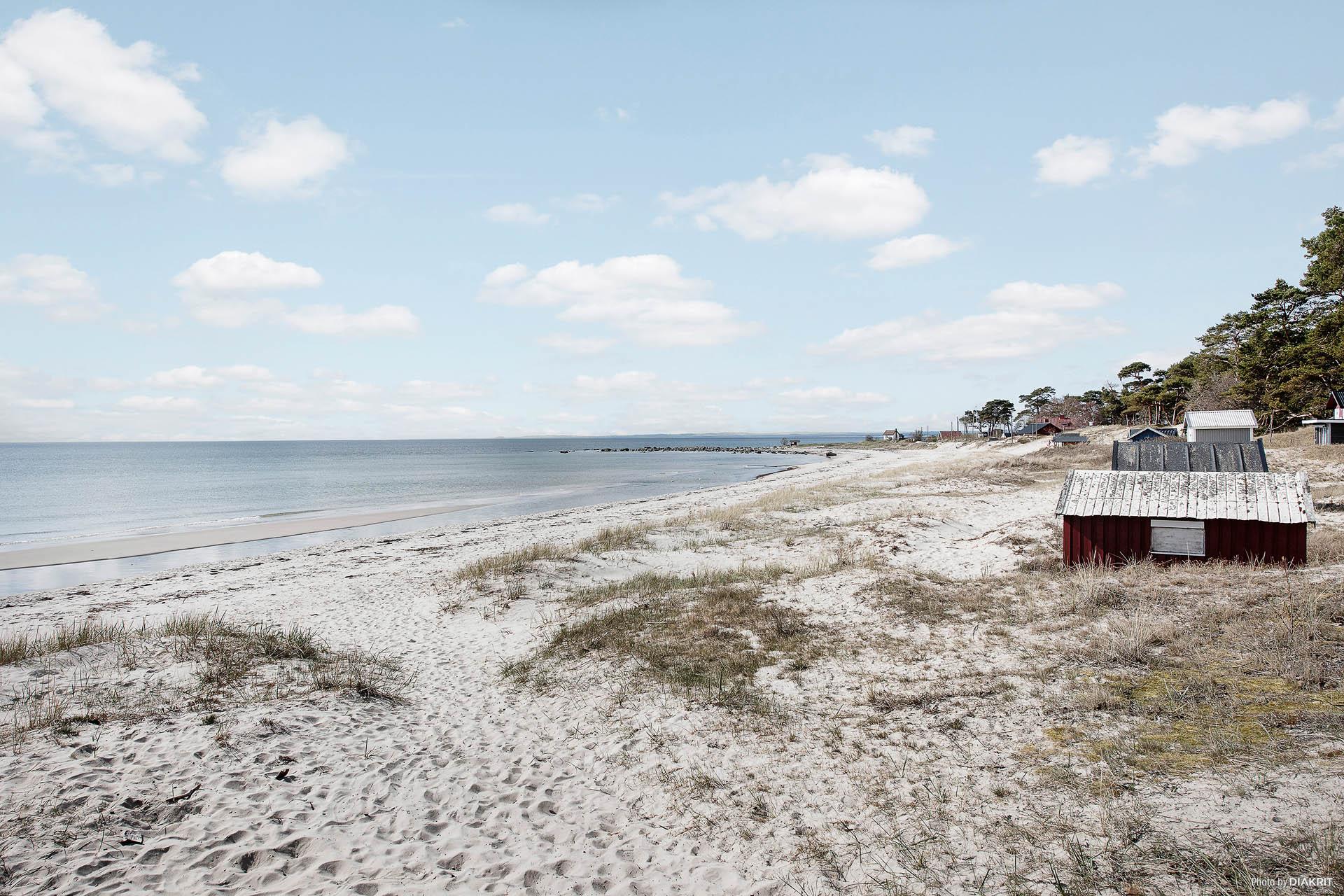 Den underbara stranden!