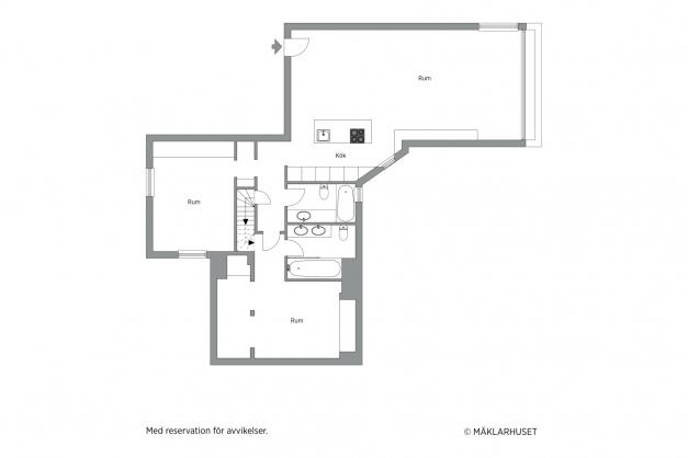 Alternativ floor plan / Plano alternativon/ Möjlig planlösning