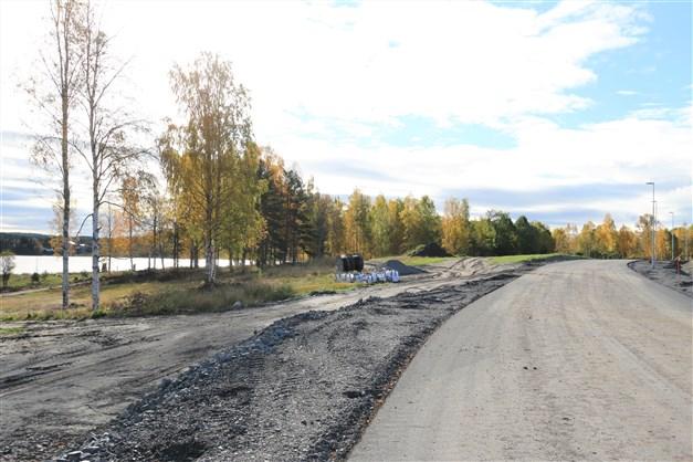 Den nya Strandängsvägen är nu nästan klar