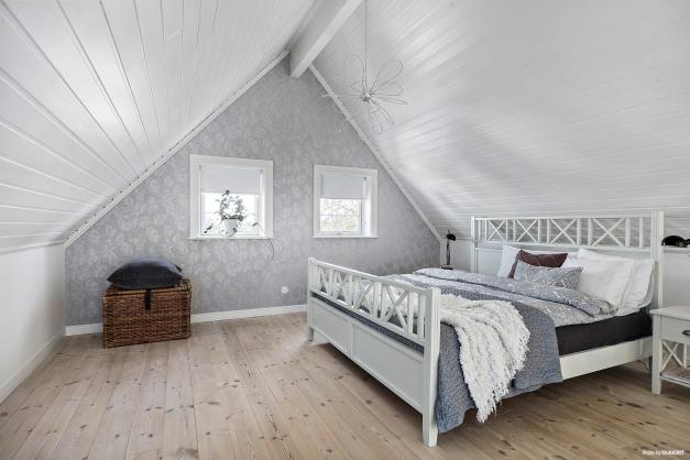 Loft med sovrum