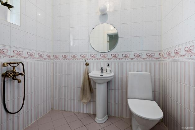 Toalett i entréplan