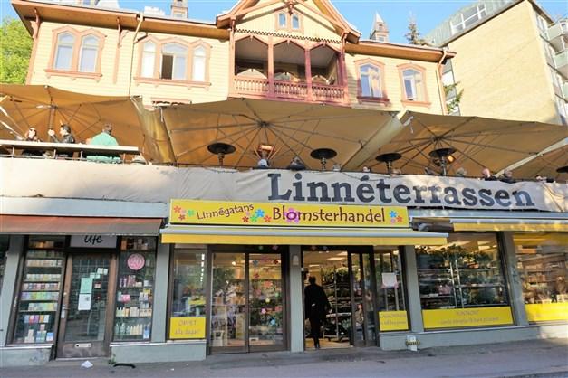 Linnéterrassen är en klassiker i Linné