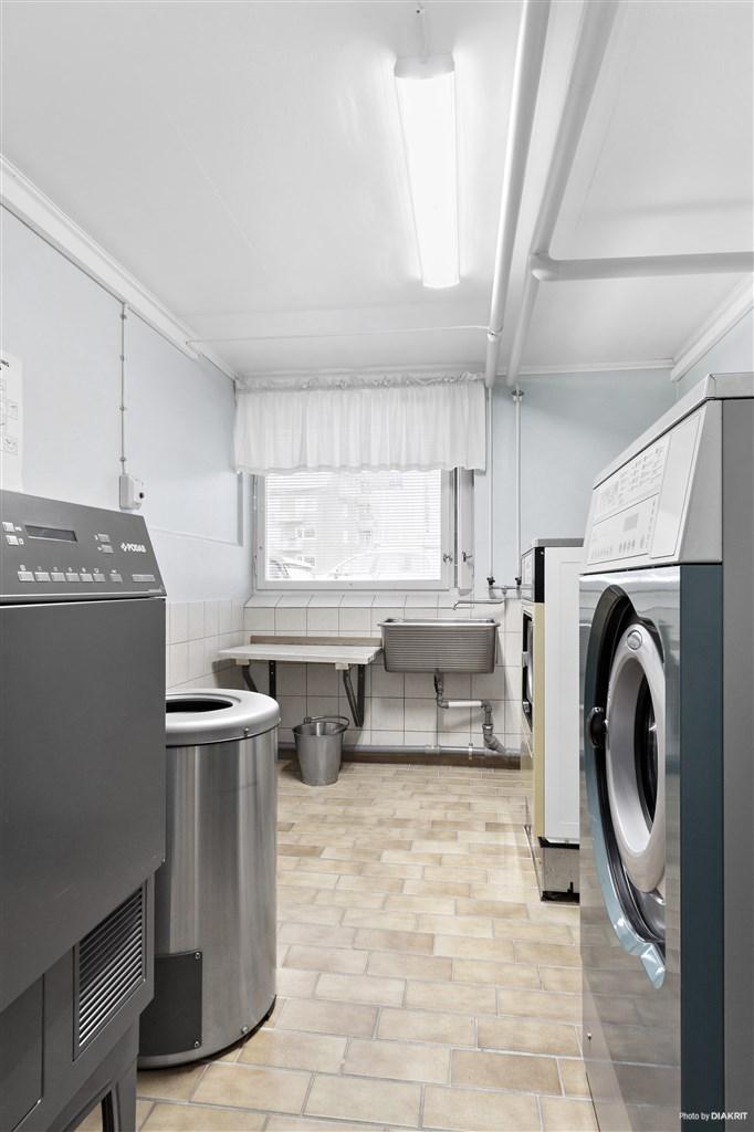 Gemensam tvättstuga
