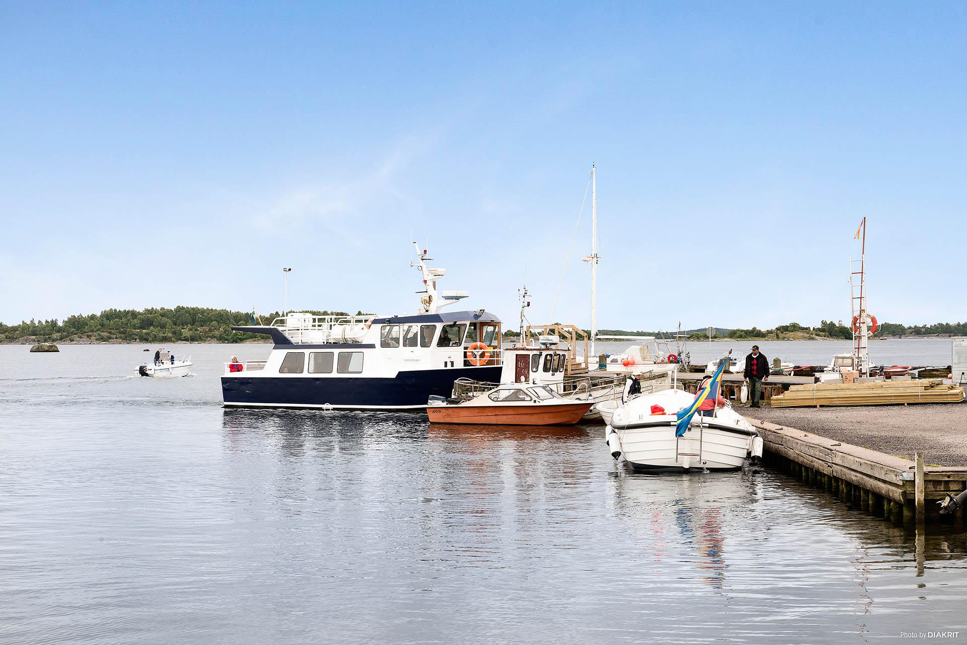 Lastbryggan i Matvik