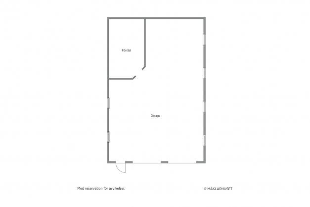 Garage 12 x 8 meter