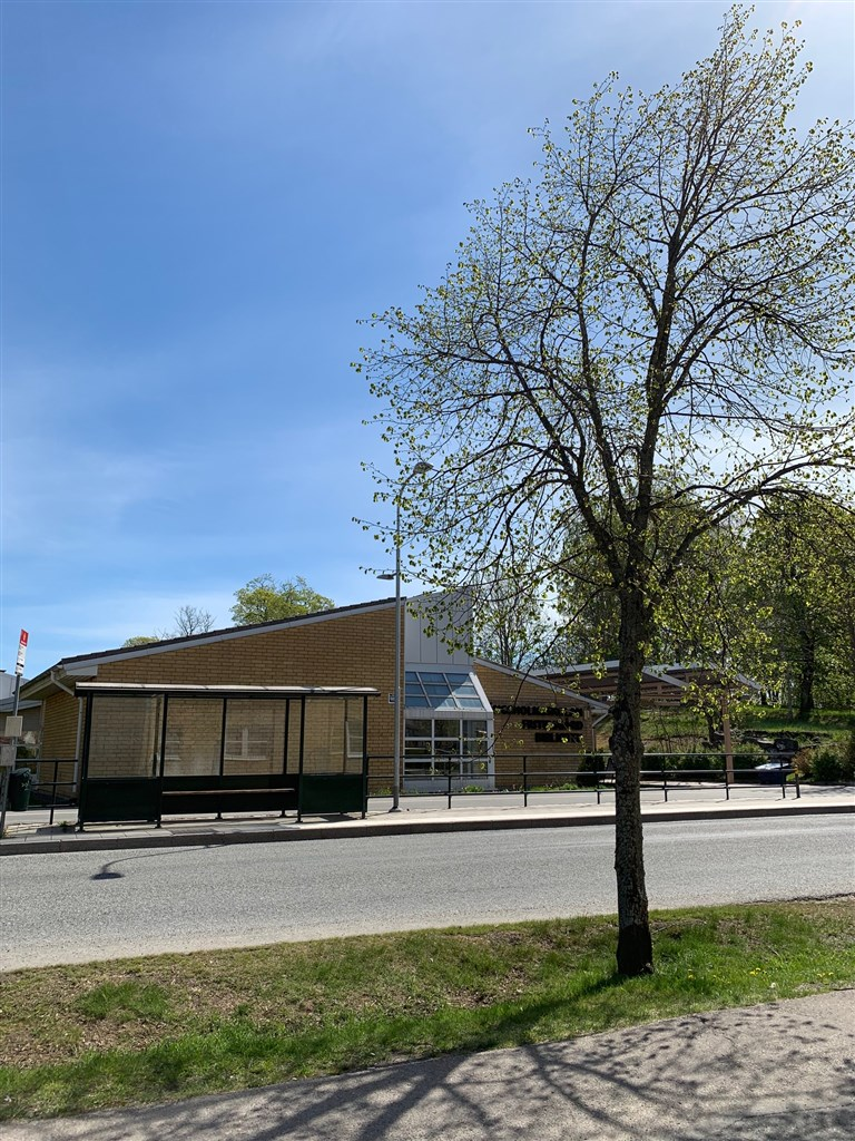 Bibliotek i Gribbylunds centrum