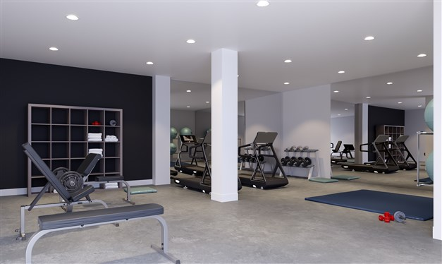 Illustrationsbild -Gym