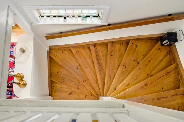 Detalj trappa