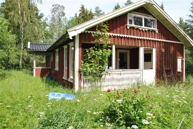 Boningshuset är uppfört -82 men i stort behov av renovering