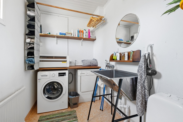 Tvättstuga/Toalett.