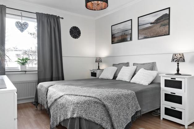Rymligt sovrum