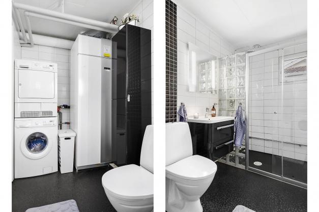 Dusch--/tvättrum