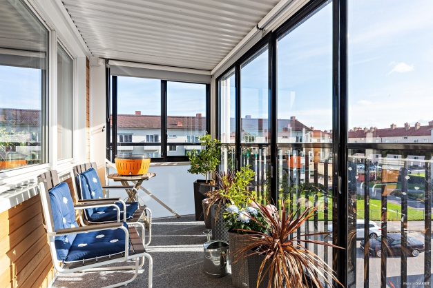Den inglasade balkong