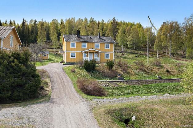 Fastighet med fina odlingsmöjligheter.