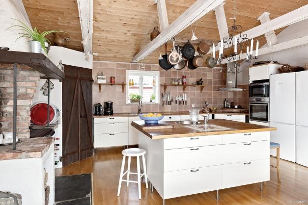 Det underbara köket, husets hjärta!