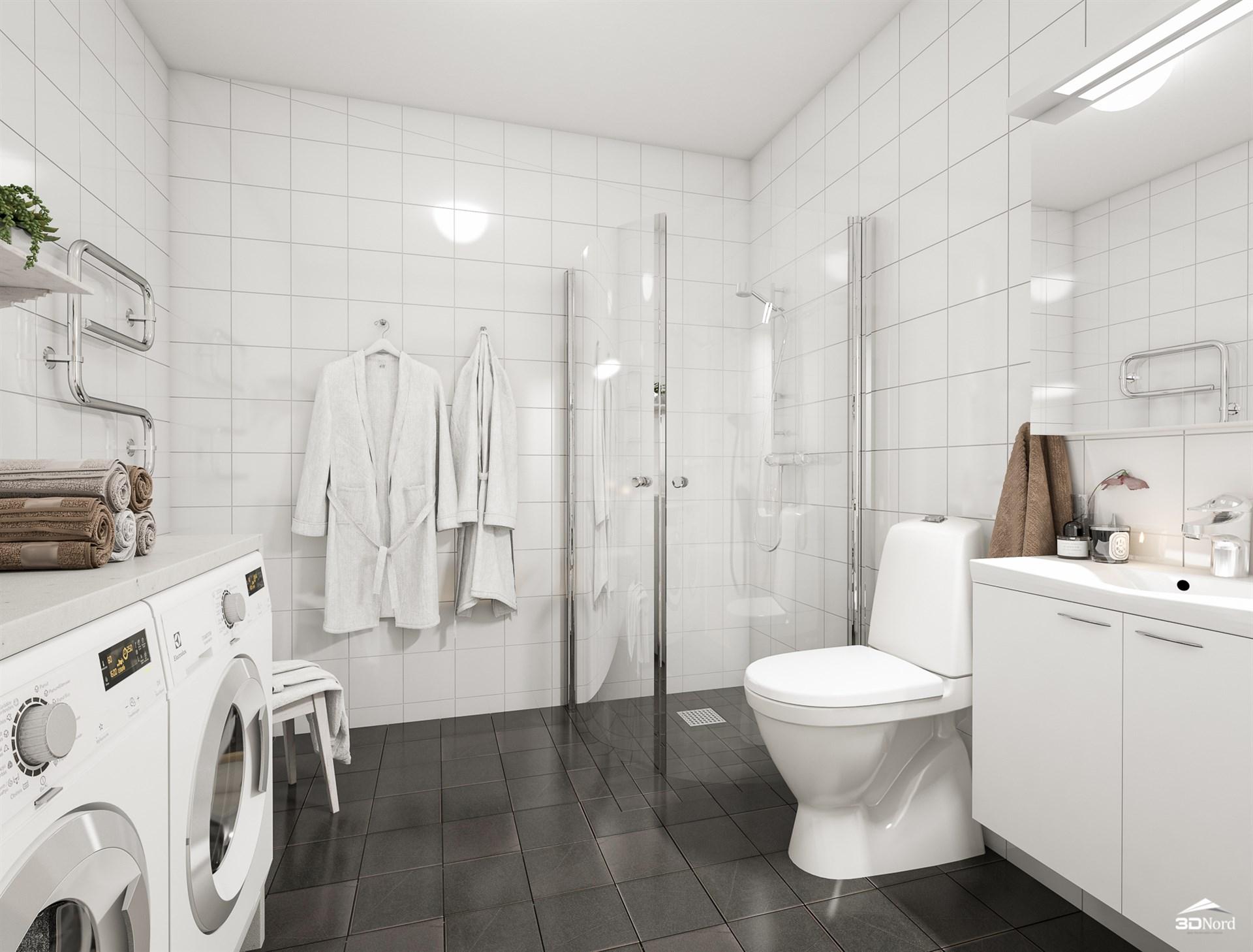 Badrum Bilderna är illustrationer och avvikelser kan förekomma..
