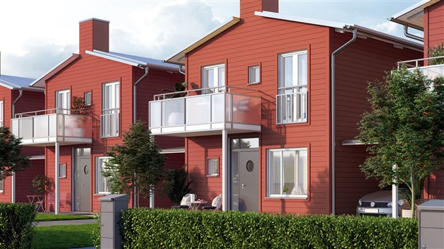 Här bor man naturnära och lugnt i Kristianstads nya stadsdel! Alla hus får en grön täppa och stenlagda uteplatser i två väderstreck. Villakänslan är påtaglig och ger dig en skön och fri vardag. Du kan starta små avkopplande trädgårdsprojekt, njuta av